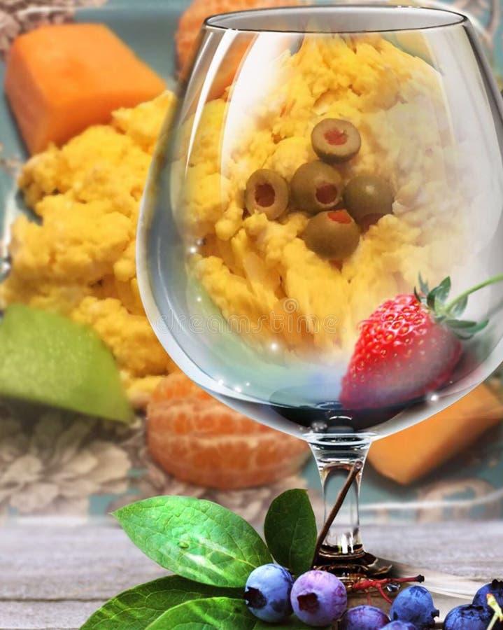 Een Elegant Ontbijt stock foto's