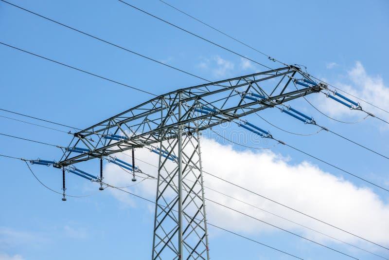 Een Elektriciteitspool royalty-vrije stock foto's