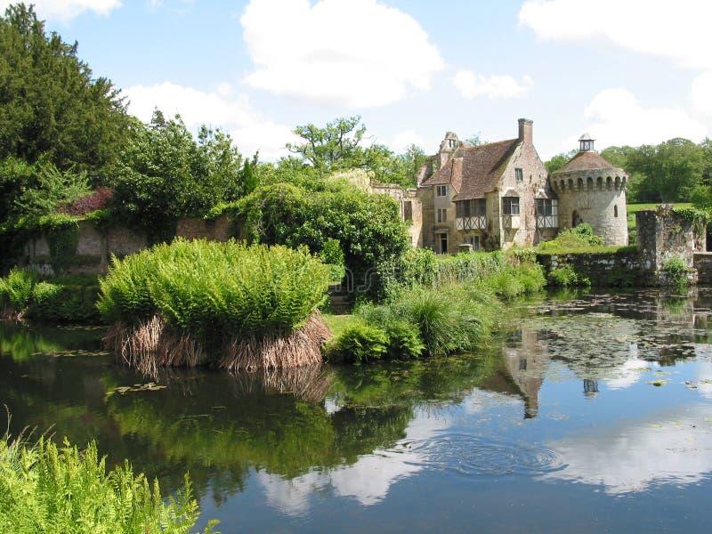 Een Engels Buitenhuis stock fotografie