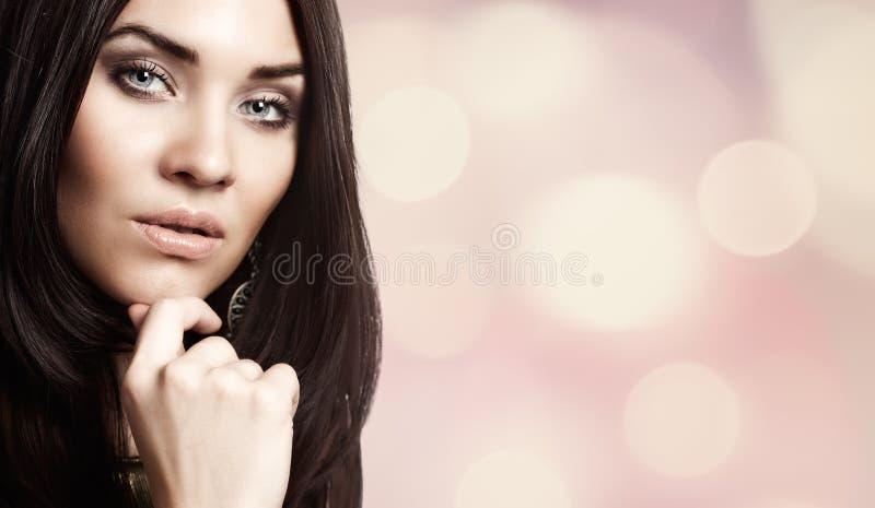 Een enkel schoonheid. stock fotografie