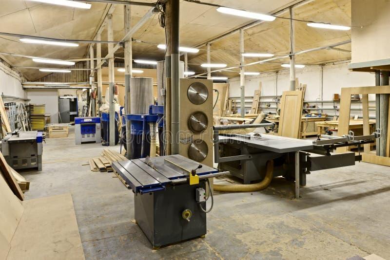Een fabriek stock foto