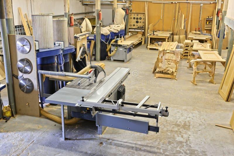 Een fabriek stock afbeelding