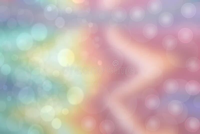 Een feestelijke abstracte Gelukkige Nieuwjaar of van de Kerstmistextuur achtergrond en met kleur vertroebelde bokeh lichten en st stock foto's