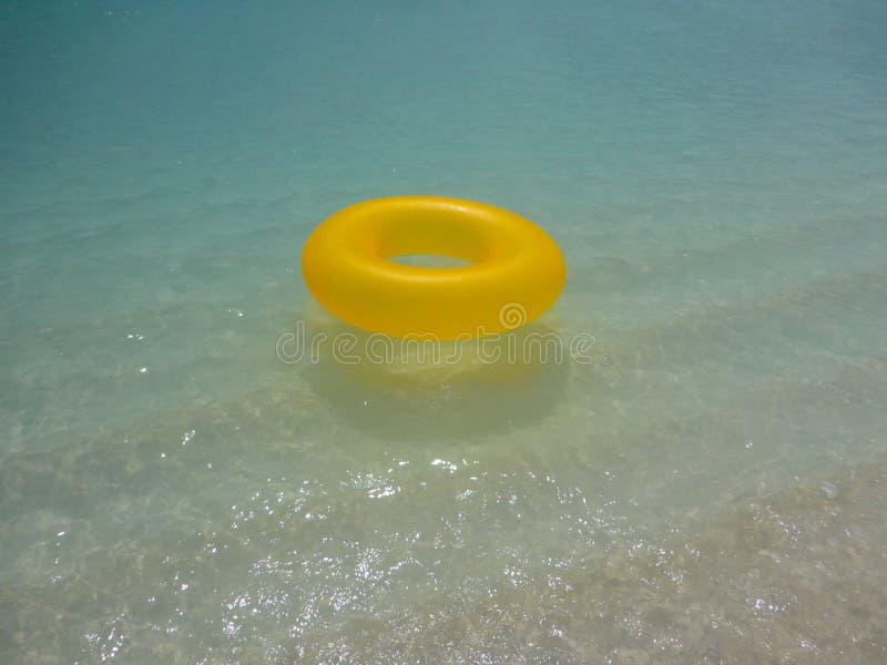 Een Floaty-Ring royalty-vrije stock afbeeldingen