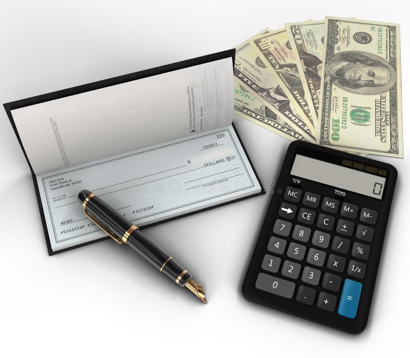 De Planning van de begroting vector illustratie
