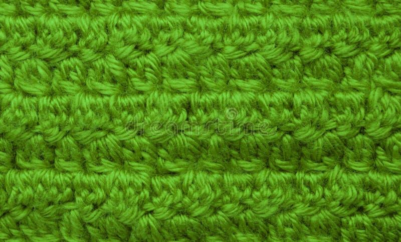 Een foto van een gehaakte textiel stock foto