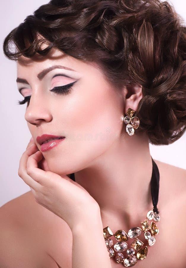 Een foto van mooi meisje royalty-vrije stock afbeeldingen