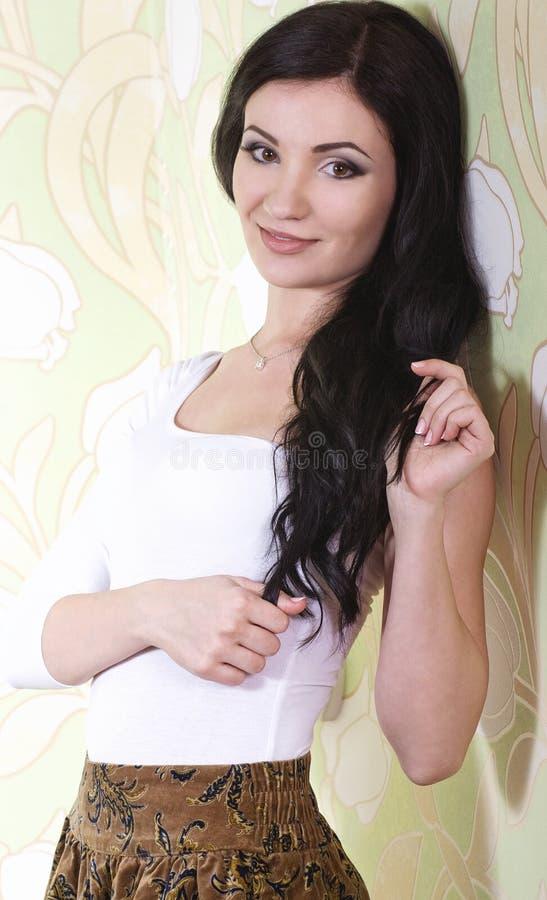 Een foto van mooi meisje royalty-vrije stock fotografie