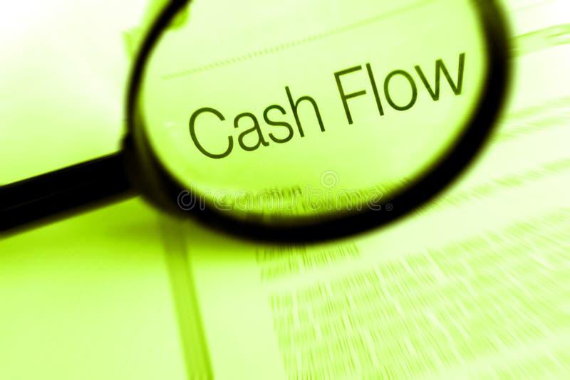 Het beheer van financiën - cash flow stock fotografie