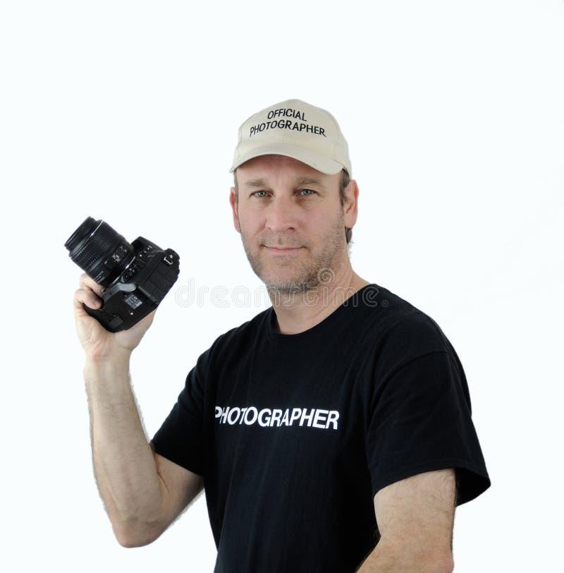Een fotograaf royalty-vrije stock foto