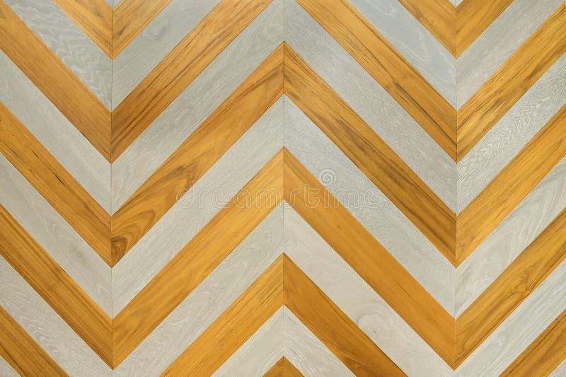 Een fragment van een houten paneelhardhout stock foto's