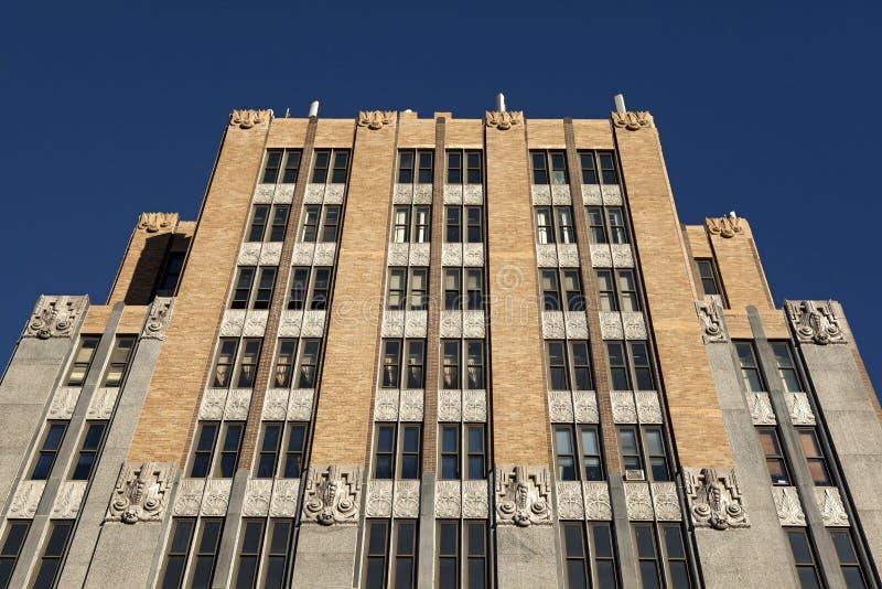 Een gebouw met meerdere verdiepingen, Jersey royalty-vrije stock foto