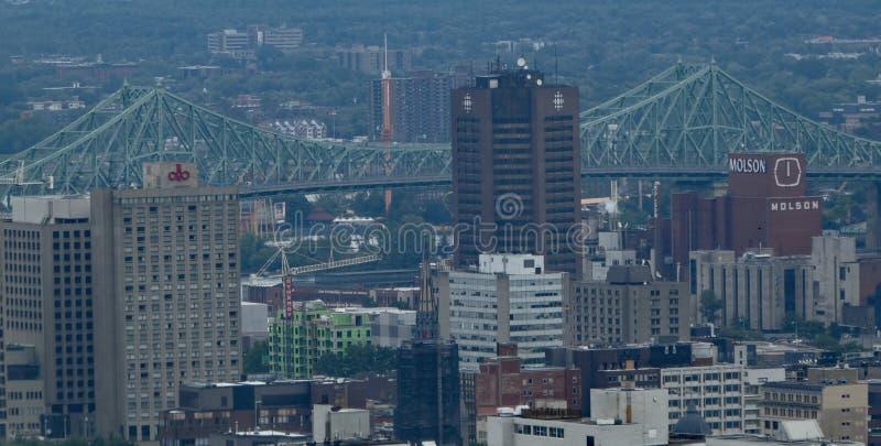 Een gedeelte van Montreal van de binnenstad royalty-vrije stock afbeelding