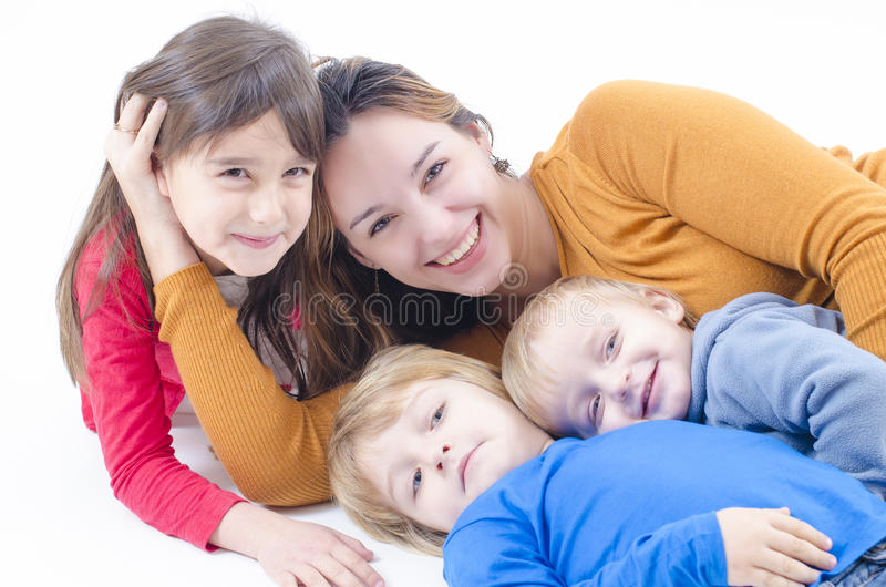 Een gelukkige Familie royalty-vrije stock foto's