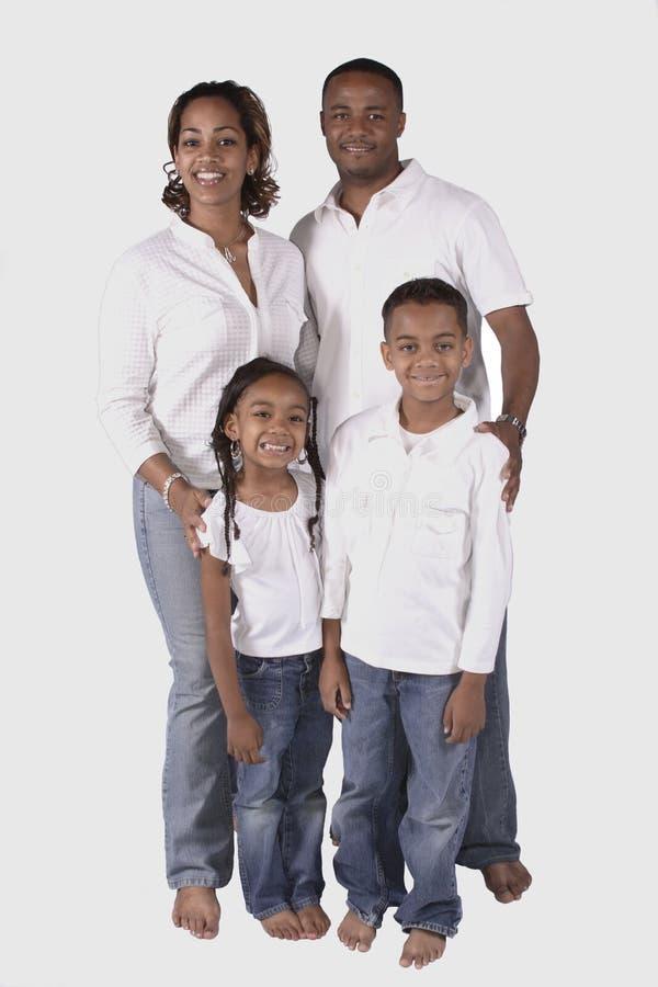 Een gelukkige familie stock fotografie
