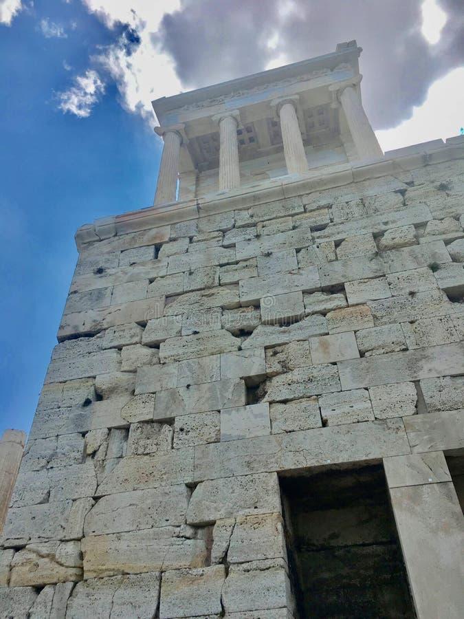 Een Geplaatste Tempel waar het behoort stock fotografie