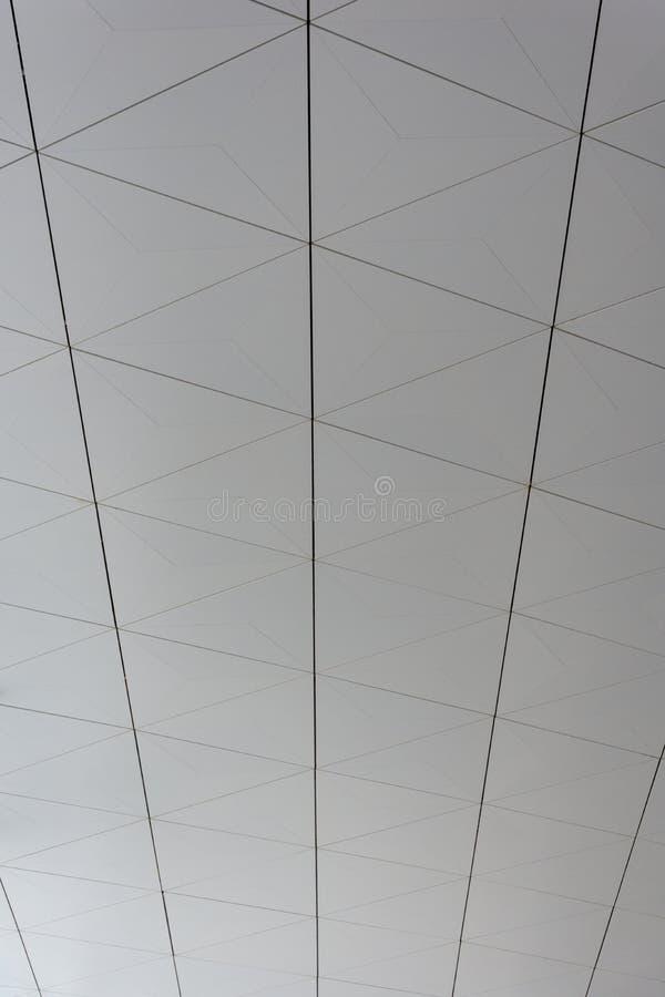Een Gevormde Plafondachtergrond van een Luchthaven royalty-vrije stock afbeelding