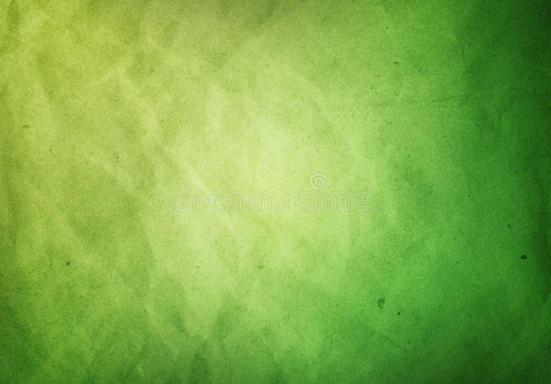 Een geweven achtergrond Grunge van het Groenboek stock fotografie