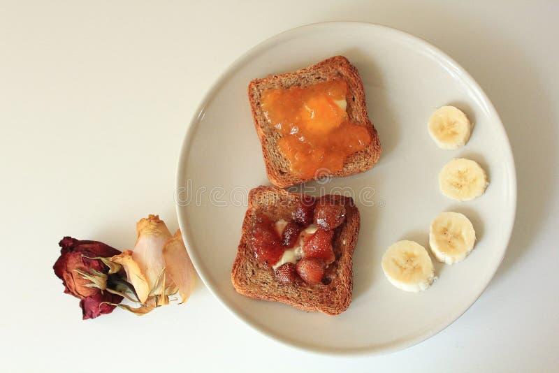 Een gezond ontbijt royalty-vrije stock afbeelding