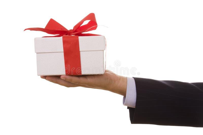 Een gift voor u! royalty-vrije stock afbeeldingen