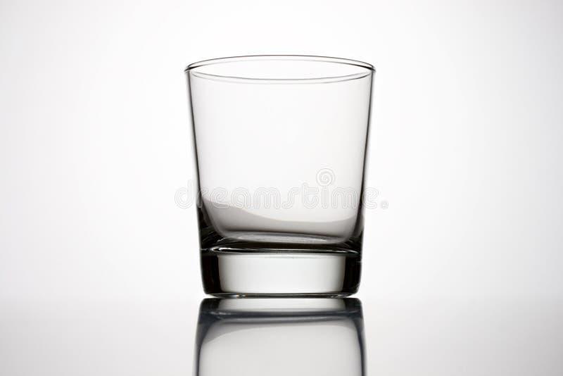Een glas stock fotografie