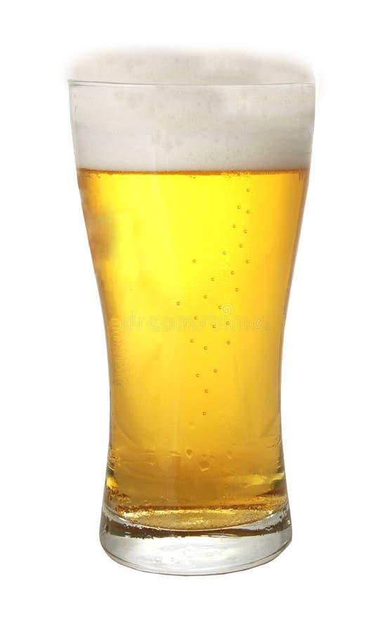 Een glas bier royalty-vrije stock foto's