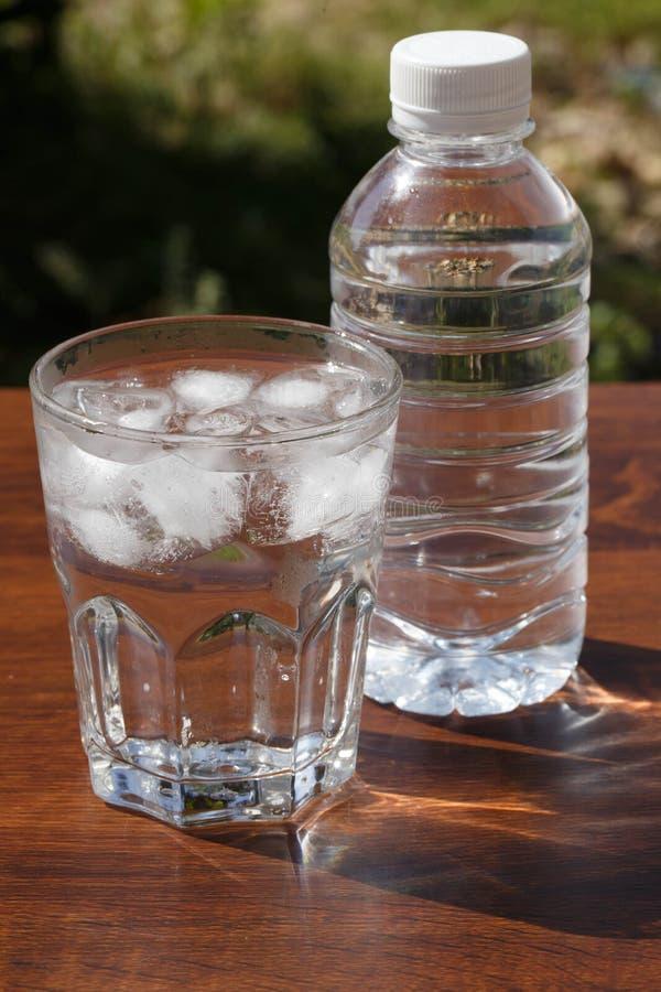 Een glas water royalty-vrije stock foto