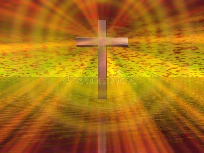 Een godsdienst stock foto