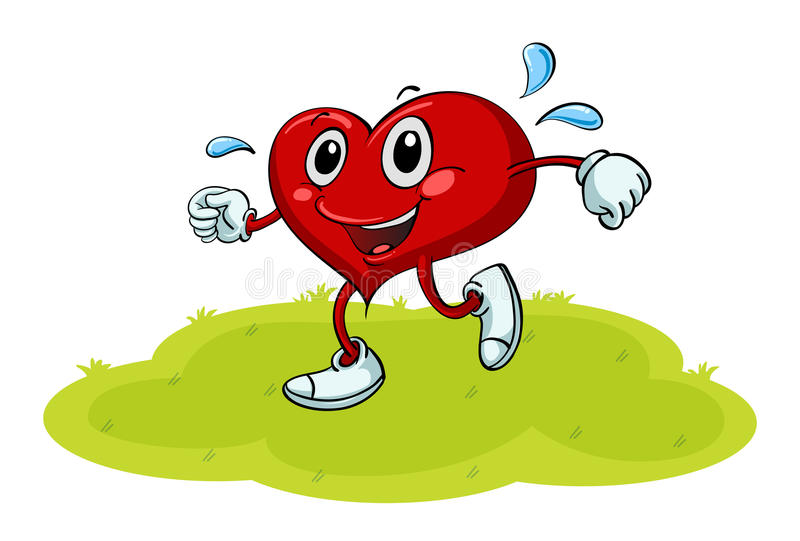 Een hart vector illustratie