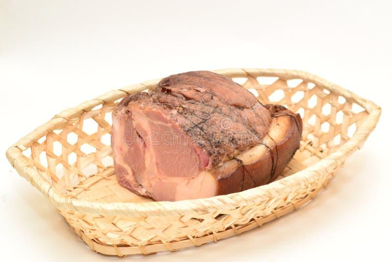 Een heerlijk gehaktbrood stock afbeelding