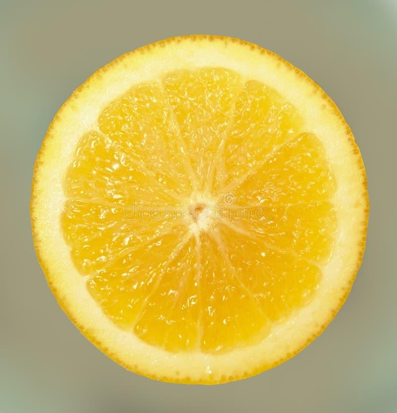 Een helder, rijp, sappig oranje fruit, dat enkel uit zijn boom wordt genomen Een smakelijk en gezond hert stock foto's