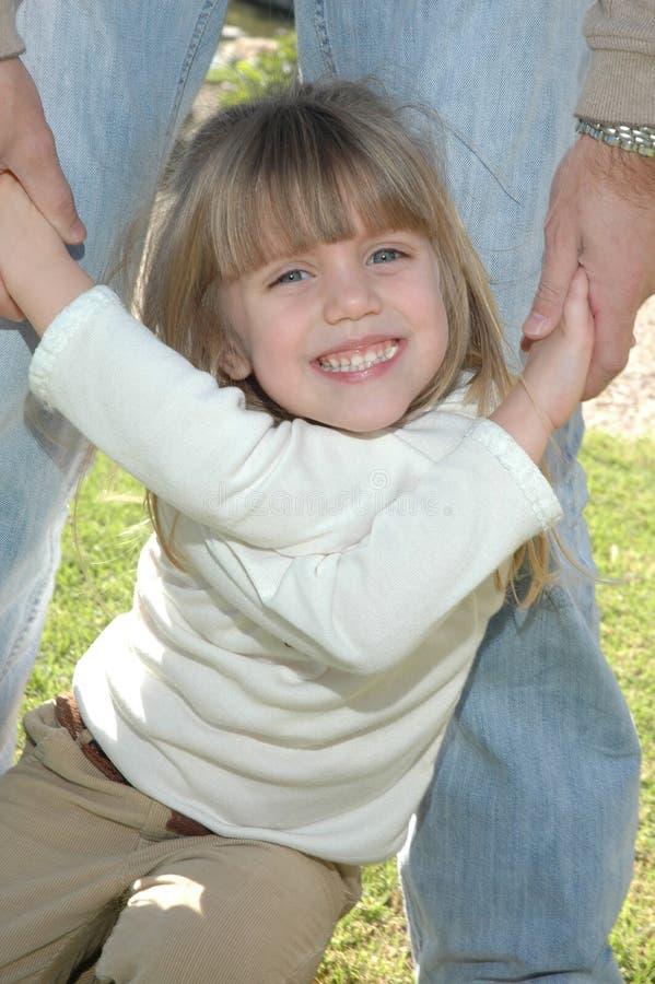 Een heldere glimlach van Meisjes royalty-vrije stock fotografie