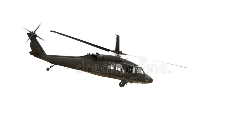 Een helikopter royalty-vrije stock fotografie