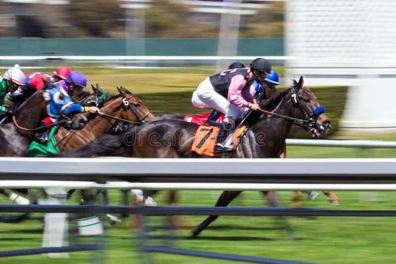 Een het Rennen Onduidelijk beeld royalty-vrije stock foto