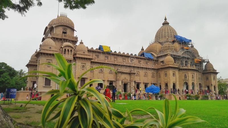 Een Hindoese Tempel van Kolkata, India stock fotografie