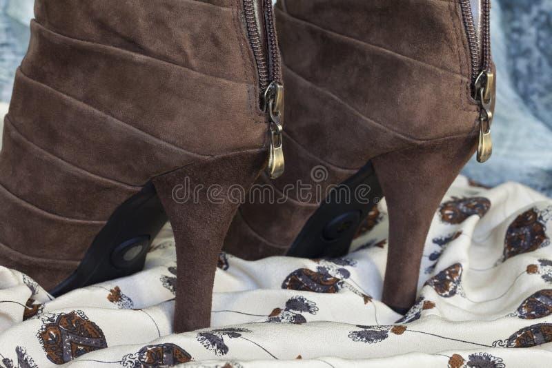 Een hoog-hielschoenen stock foto's