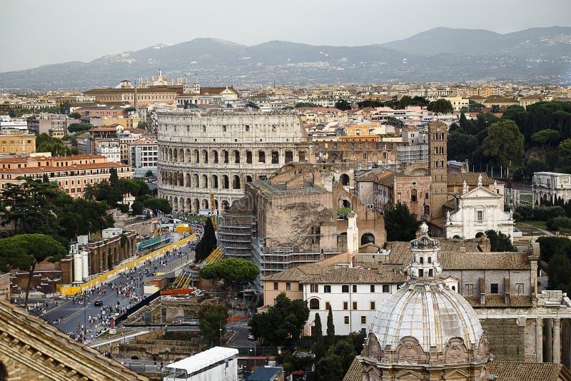 Een horizon van Rome royalty-vrije stock fotografie