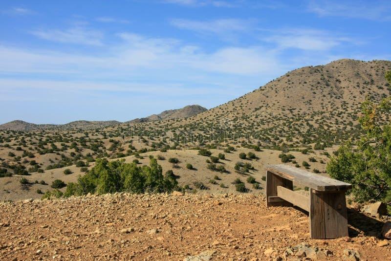 Schatten van New Mexico stock foto's