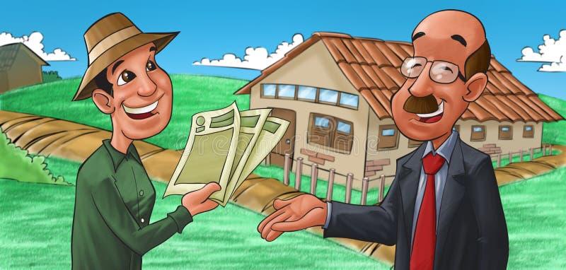 Een huis vector illustratie