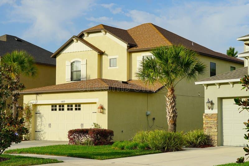 Een huis in Florida royalty-vrije stock afbeelding