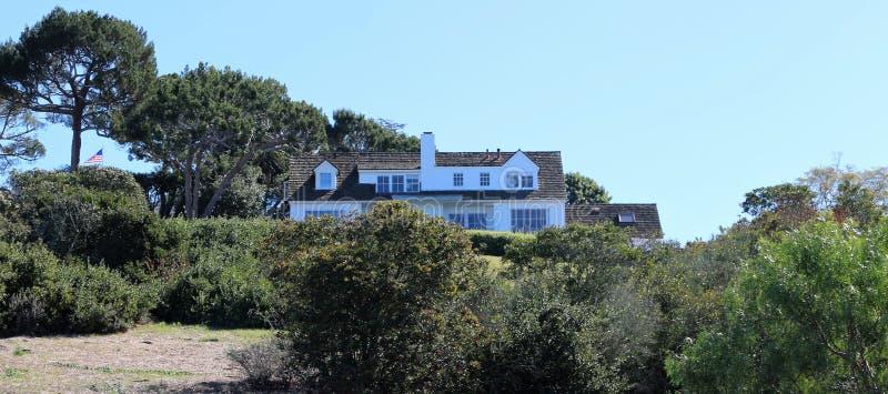 Een Huis in Palos Verdes Estates, Californië royalty-vrije stock foto's