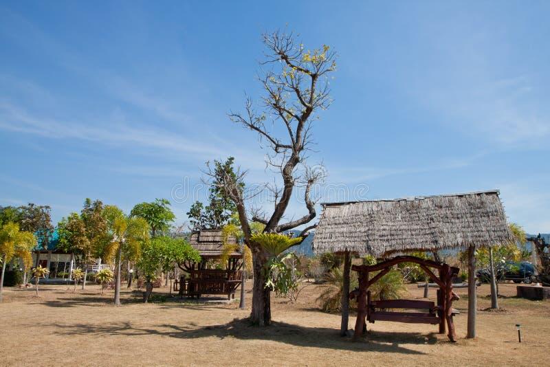 Een hut royalty-vrije stock afbeelding