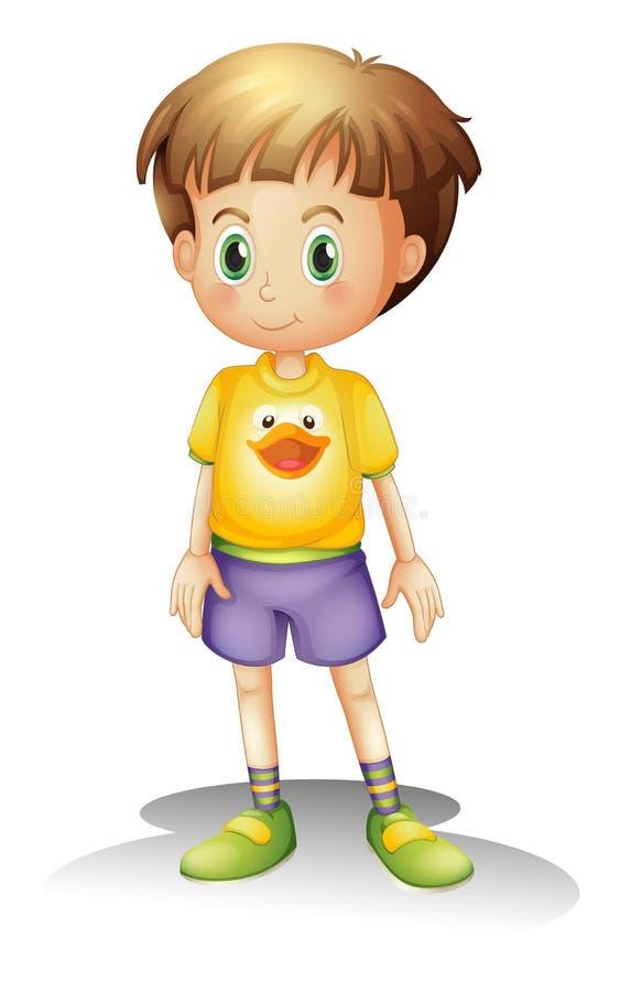 Een jongen stock illustratie