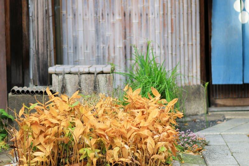een Kameyacho-mening van Kyoto in dagtijd stock afbeelding