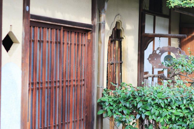 een Kameyacho-mening van Kyoto in dagtijd royalty-vrije stock foto