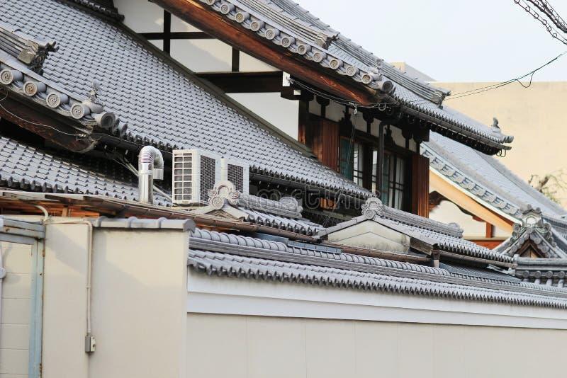 een Kameyacho-mening van Kyoto in dagtijd royalty-vrije stock afbeeldingen