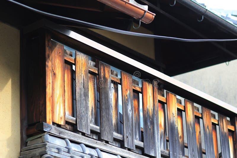 een Kameyacho-mening van Kyoto in dagtijd royalty-vrije stock foto's