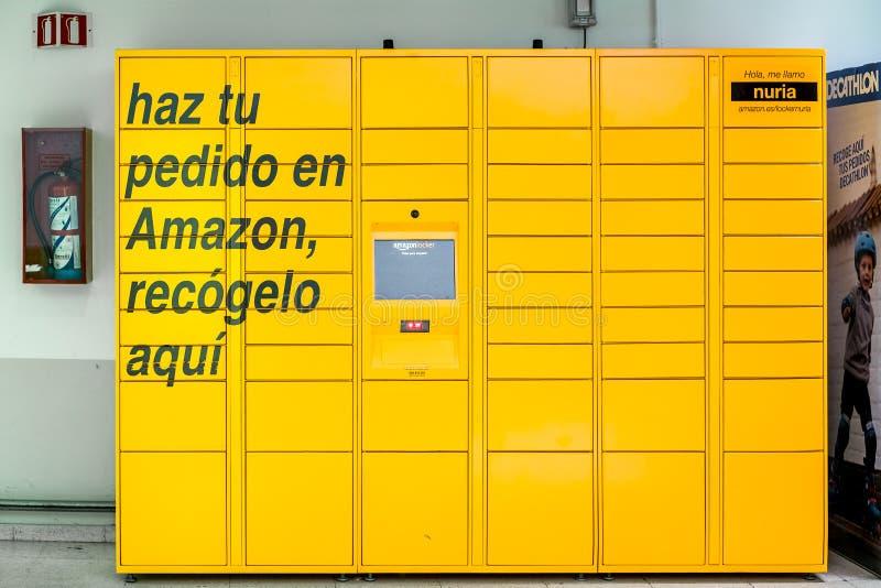 Een Kast van Amazoni stock afbeeldingen