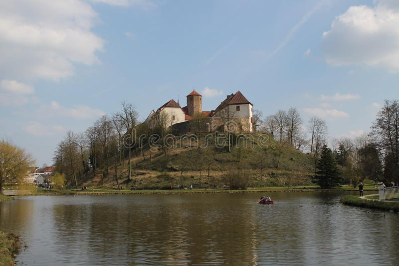 Een kasteel royalty-vrije stock foto