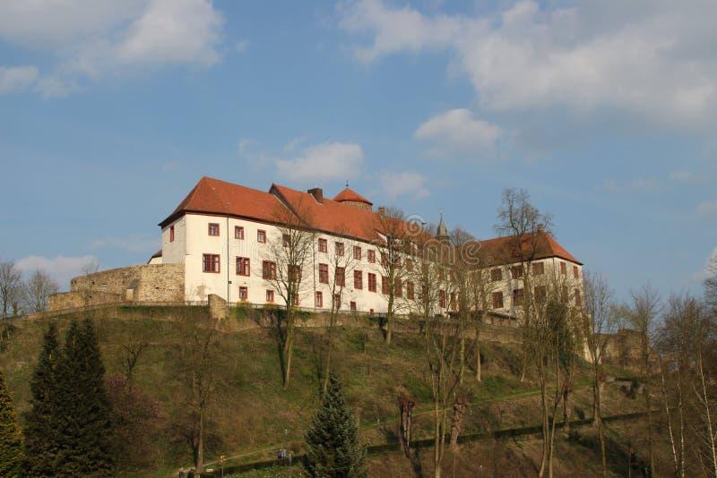 Een kasteel stock foto's